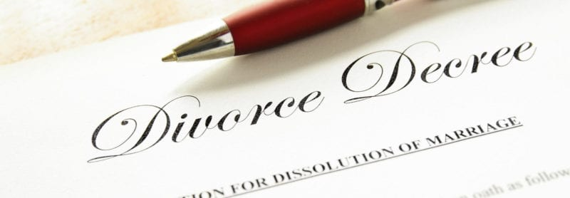 divorce decree in NC