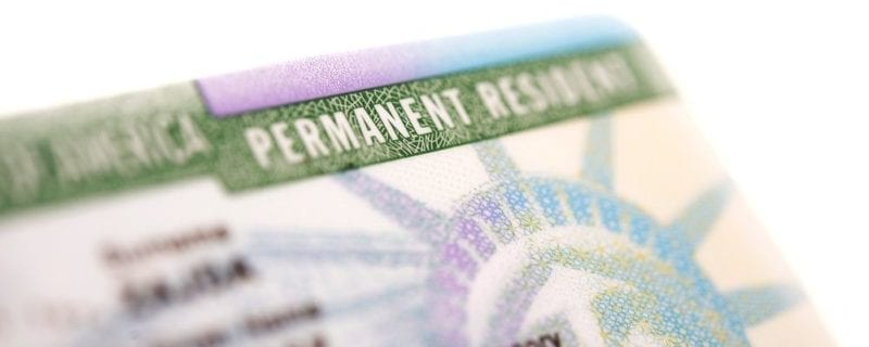 green card divorce in NC