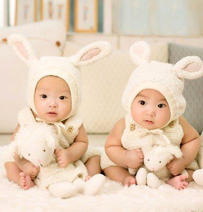twin babies born IVF